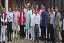 Itanagar : NPP team left for New Delhi
