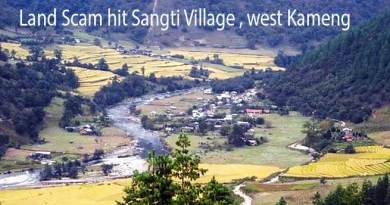 Arunachal: After TAH now Sangti Community Land compensation Scam