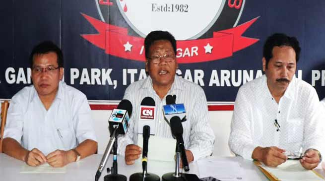 Arunachal: AITF appeal governor's intervention on TAH issue