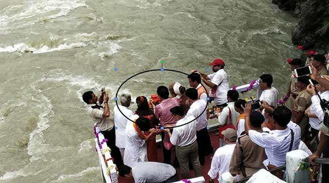 Arunachal: Atal Behari Vajpayee's Ashes Immersed In Parshuram Kund