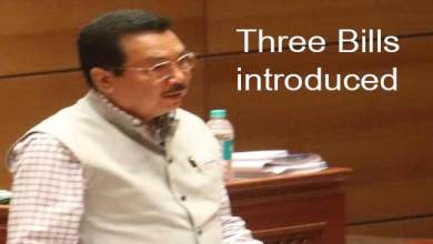 Photo of Arunachal: DY CM Chowna Mein introduces three bills in Assembly