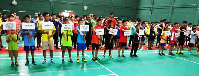 Arunachal: Dorjee Khandu Memorial State Badminton Championships-2018 begins