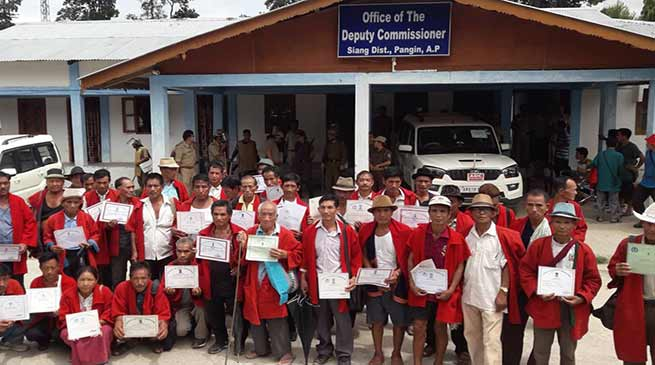 Arunachal: 52 GBs resigns in protest against shifting of district HQ