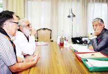 Itanagar:  All India Vivekananda Kendra Vice President calls on the Governor