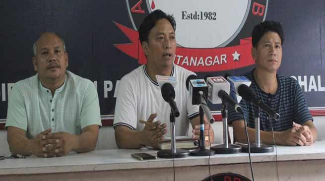 Itanagar: IMWA supports  AAPSU's Operation Clean Drive- Yumlam Achung
