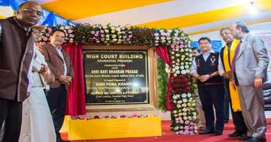 Arunachal: Pema Khandu lays foundation stone for HC building