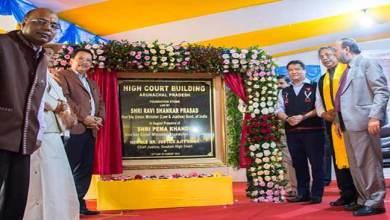 Photo of Arunachal: Pema Khandu lays foundation stone for HC building