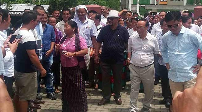 Arunachal: Komoli Mosang gets warm welcome in Jairampur