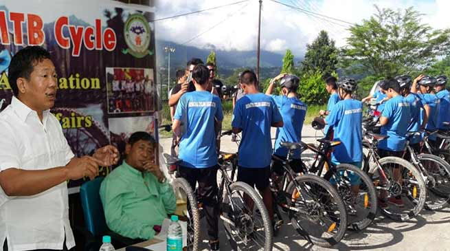 Arunachal:  Tago inaugurates workshop on MTB Cycling