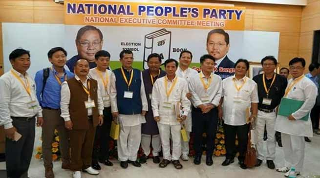 Arunachal : Tanga Byaling elected NPP Legislature Party Leader