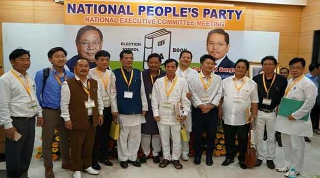 Arunachal : Tanga Byaling elected NPP Legislature Party Leader