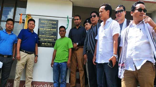 Arunachal: Biyuram inaugurates Police outpost, distributed LPG cylinders in Pakke Kesang