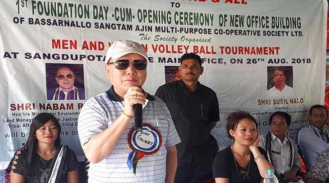 Arunachal:Cooperation of locals needed for development of Sangdupota- Nabam Rebia