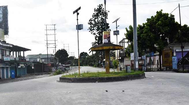 Arunachal: 12 hrs Njaw and Lohit bandh passes off peacefully