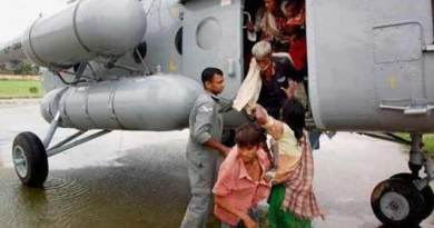The Indian Air Force on Friday evacuated at least 19 people including 12 adults and 7 children stranded on an island of the Siang river.