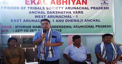 Arunachal: Libang appeal the teachers to create human resources for development of Nation