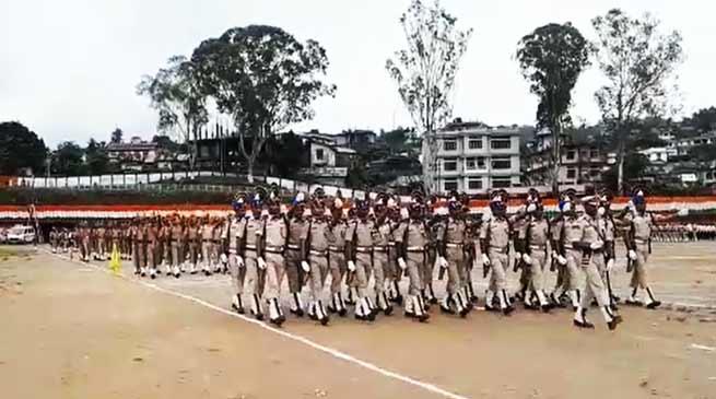 Arunachal:Full Dress Rehearsal of I-Day celebrations held at Itanagar