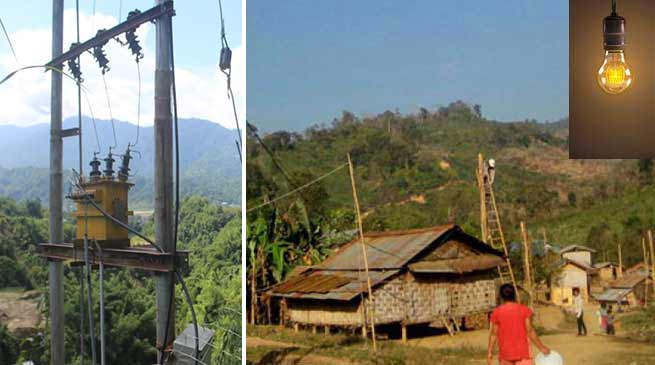 Arunachal: 16 house electrified at kankara Putu village