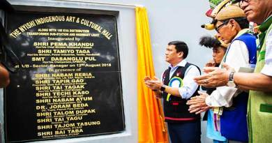 Itanagar: Khandu inaugurates Nyishi Indigenous Art and Cultural Hall