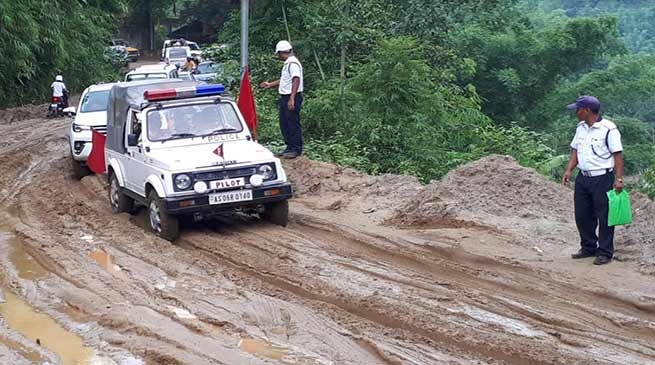 Arunachal: One hour of rain leaves capital complex waterlogged, slows down traffic