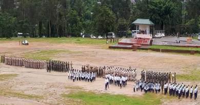 Itanagar: Rehearsal for 72nd I-Day celebration begins