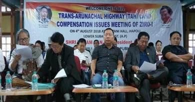 Arunachal: APCC Chief threatens for movement against TAH compensation issue