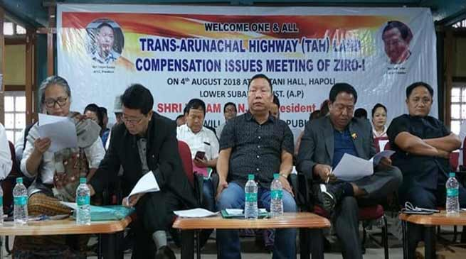 Arunachal: APCC Chief threatens for movement against TAH compensation issue
