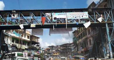 Itanagar: Are Torn and dirty banners and posters are beauty of capital complex ..?