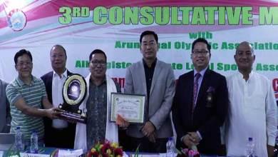 Arunachal: Annual sports-cum-Consultative meeting held