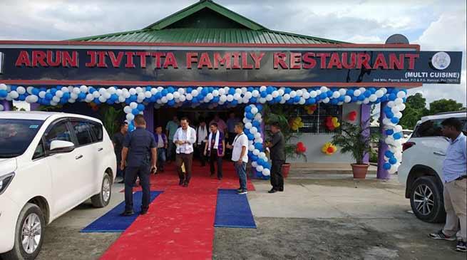 "Arunachal: Namsai gets ""Arun Jivita Family Restaurant"""