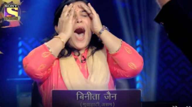 KBC 10: Binita Jain of Guwahati wins one crore