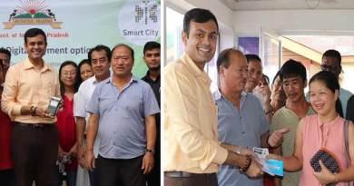 Itanagar: Dhawan launches digital payment, POS System