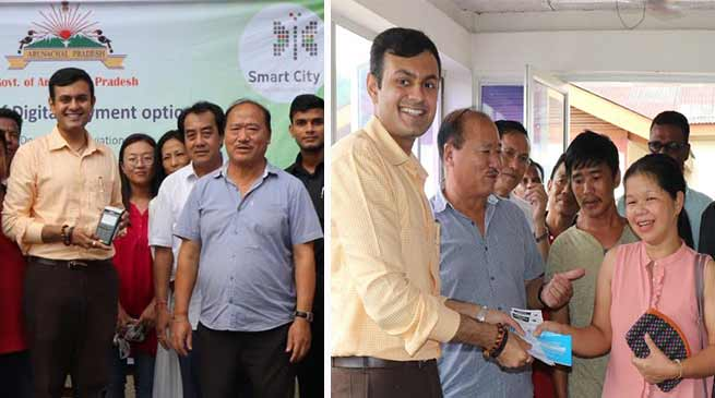 Itanagar: Dhawan launches digital payment, POS System