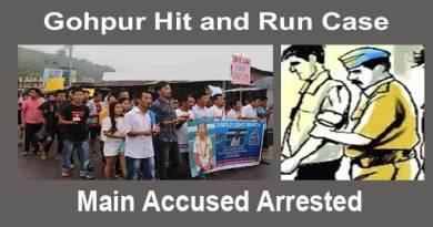 Itanagar:Gohpur hit and run case- Accused arrested