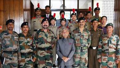 Photo of Itanagar: NCC is a very important part of academic curricula- Governor