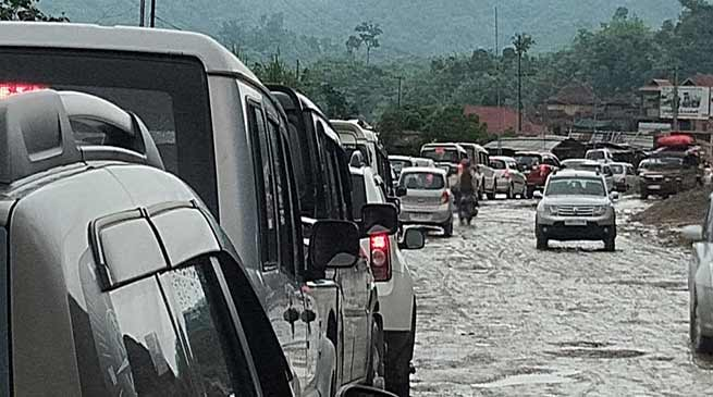 Itanagar: Traffic Jam becomes nuisance for residents of twin capital city