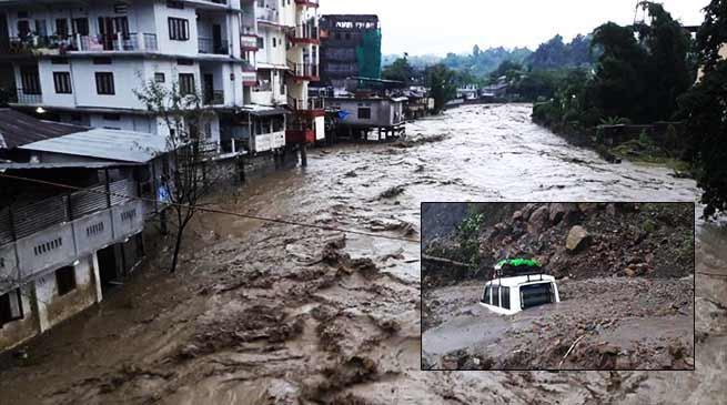 Arunachal: 6 feared dead at Itanagar, after landslide and flash flood