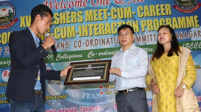 Arunachal:  Likha Maj assured to construct 200 bedded girls hostel in capital