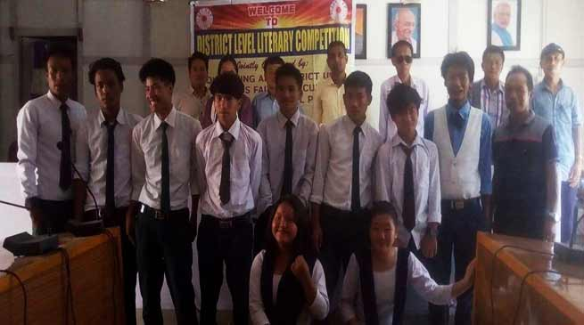 Arunachal: IFCSAP organises district level literary competition