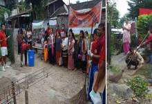 Photo of Arunachal: NDRF conducts door to door cleanliness drive