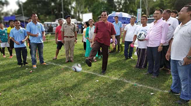 Arunachal: Chowna Mein kicks off the first Namsai Champions Trophy