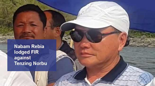 Arunachal: cash for job scam- After Kaso, Now Rebia lodges FIR