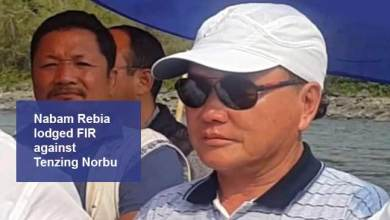 Photo of Arunachal:cash for job scam- After Kaso, Now Rebia lodges FIR