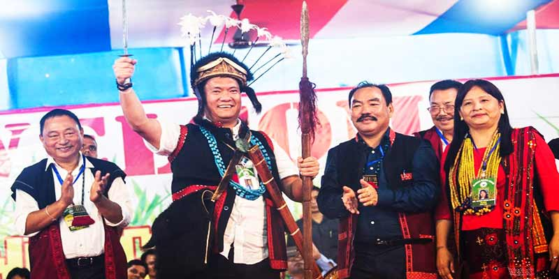 Arunachal: Khandu attended Bango Solung festival at Ruksin