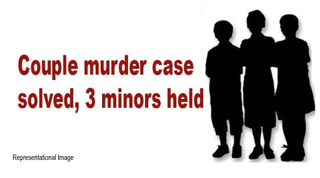 Arunachal: Couple murder case solved, 3 minors held