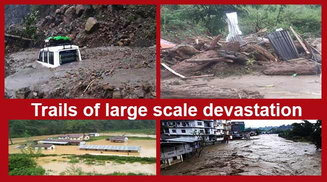Arunachal : Landslide claims several lives, Khandu expresses shock and sorrow