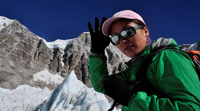 Arunachal: Dr Anshu Jamsenpa to be conferred with  India's Highest Adventure Award