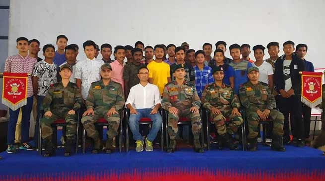 Arunachal: Army felicitates 41 youths who cleared recruitment test