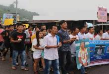 Photo of Itanagar: Gohpur hit and run case- Candle march for justice
