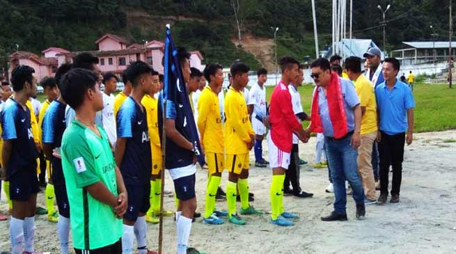 Arunachal:Inter village football tournament of Dirang sub division begins